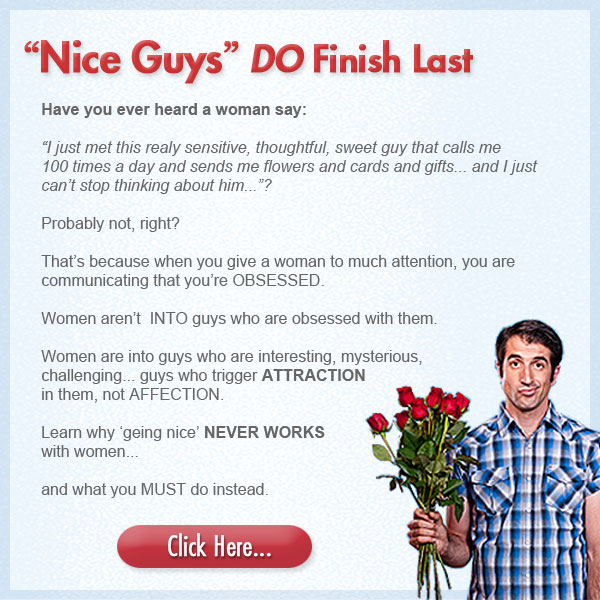 Nice Guys Give Up On Dating